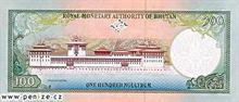 Bhútánský ngultrum 100