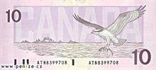 Kanadský dolar 10
