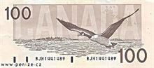 Kanadský dolar 100