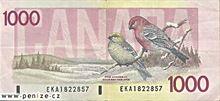 Kanadský dolar 1000