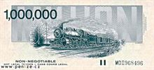 Kanadský dolar 1000000