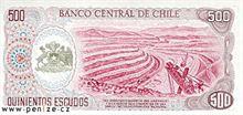 Chilské peso 500