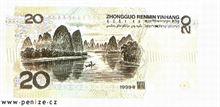 Čínský jüan 20
