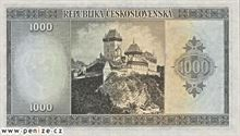 Československá koruna 1000