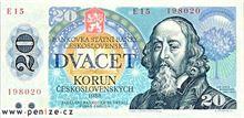 Československá koruna 20