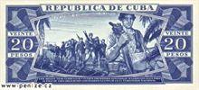 Kubánské peso 20