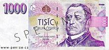 Česká koruna 1000