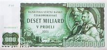 Česká koruna 10000000000