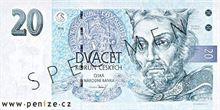 Česká koruna 20