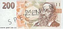 Česká koruna 200