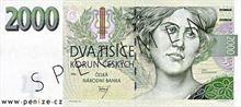 Česká koruna 2000