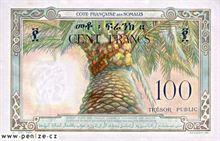 Džibutský frank 100
