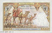 Džibutský frank 50