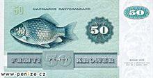 Dánská koruna 50