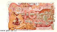 Alžírský dinár 10