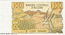 Alžírský dinár 100
