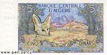 Alžírský dinár 5