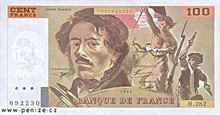 Francouzský frank 100