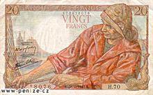 Francouzský frank 20