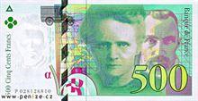 Francouzský frank 500