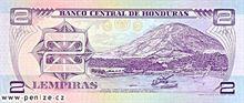 Honduraská lempira 2