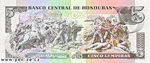 Honduraská lempira 5