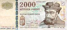 Maďarský forint 2000