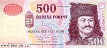 Maďarský forint 500