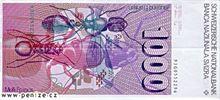 Švýcarský frank 1000
