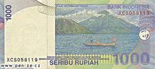 Indonéská rupie 1000