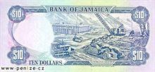 Jamajský dolar 10