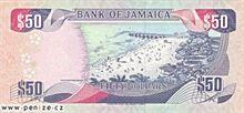 Jamajský dolar 50