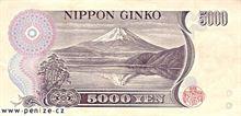 Japonský jen 5000