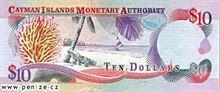 Kajmanský dolar 10