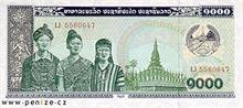 Laoský kip 1000