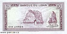 Libanonská libra 10