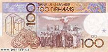 Marocký dirham 100