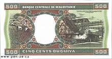 Mauritánská ukíja 500