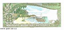 Maledivská rupie 2
