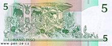 Filipínské peso 5