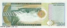 Paraguajské guarani 100000
