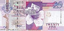 Seychelská rupie 25