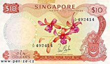 Singapurský dolar 10