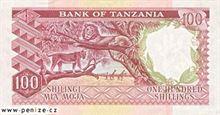 Tanzanský šilink 100