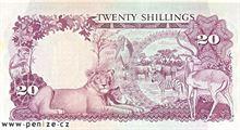 Ugandský šilink 20