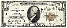 Americký dolar 10