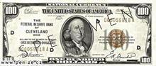 Americký dolar 100