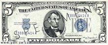 Americký dolar 5
