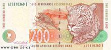 Jihoafrický rand 200