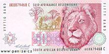 Jihoafrický rand 50